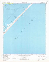 Styron Bay North Carolina Historical topographic map, 1:24000 scale, 7.5 X 7.5 Minute, Year 1949