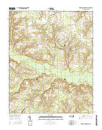 Summerlins Crossroads North Carolina Current topographic map, 1:24000 scale, 7.5 X 7.5 Minute, Year 2016 from North Carolina Map Store