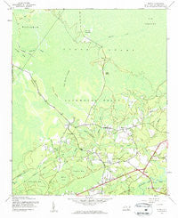 Supply North Carolina Historical topographic map, 1:24000 scale, 7.5 X 7.5 Minute, Year 1943