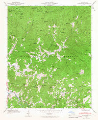 Tuckasegee North Carolina Historical topographic map, 1:24000 scale, 7.5 X 7.5 Minute, Year 1946