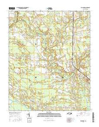 Vanceboro North Carolina Current topographic map, 1:24000 scale, 7.5 X 7.5 Minute, Year 2016