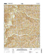 Welcome North Carolina Current topographic map, 1:24000 scale, 7.5 X 7.5 Minute, Year 2016 from North Carolina Maps Store