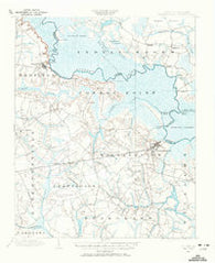 Wiillamston North Carolina Historical topographic map, 1:62500 scale, 15 X 15 Minute, Year 1901