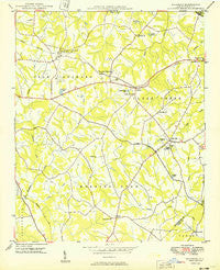 Wilgrove North Carolina Historical topographic map, 1:24000 scale, 7.5 X 7.5 Minute, Year 1949