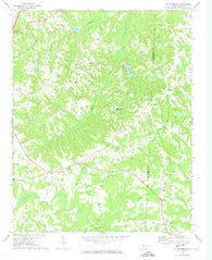 Williamsburg North Carolina Historical topographic map, 1:24000 scale, 7.5 X 7.5 Minute, Year 1972