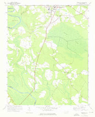 Woodville North Carolina Historical topographic map, 1:24000 scale, 7.5 X 7.5 Minute, Year 1972