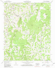 Zionville Tennessee Historical topographic map, 1:24000 scale, 7.5 X 7.5 Minute, Year 1959