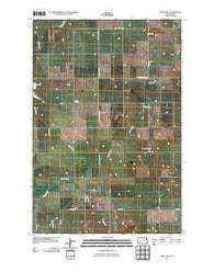 Abbey Hill North Dakota Historical topographic map, 1:24000 scale, 7.5 X 7.5 Minute, Year 2011