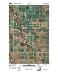 Abercrombie North Dakota Historical topographic map, 1:24000 scale, 7.5 X 7.5 Minute, Year 2011