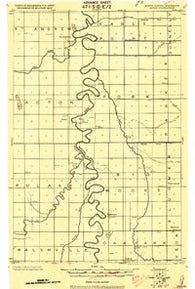 Acton Minnesota Historical topographic map, 1:62500 scale, 15 X 15 Minute, Year 1918