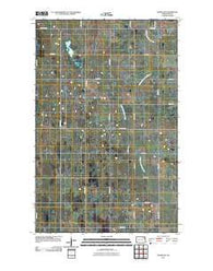 Adams SW North Dakota Historical topographic map, 1:24000 scale, 7.5 X 7.5 Minute, Year 2011