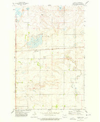 Appam North Dakota Historical topographic map, 1:24000 scale, 7.5 X 7.5 Minute, Year 1977