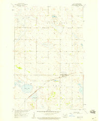 Balta North Dakota Historical topographic map, 1:24000 scale, 7.5 X 7.5 Minute, Year 1958