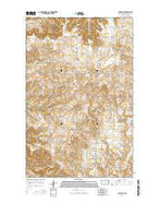 Belden SW North Dakota Current topographic map, 1:24000 scale, 7.5 X 7.5 Minute, Year 2014 from North Dakota Map Store