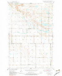 Brantford NE North Dakota Historical topographic map, 1:24000 scale, 7.5 X 7.5 Minute, Year 1950
