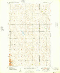 Burlington NW North Dakota Historical topographic map, 1:24000 scale, 7.5 X 7.5 Minute, Year 1949