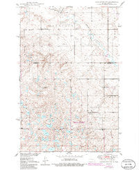 Carrington SW North Dakota Historical topographic map, 1:24000 scale, 7.5 X 7.5 Minute, Year 1950