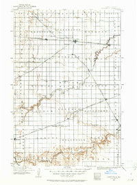 Casselton North Dakota Historical topographic map, 1:125000 scale, 30 X 30 Minute, Year 1895