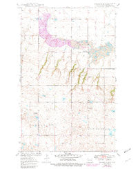 Columbus SE North Dakota Historical topographic map, 1:24000 scale, 7.5 X 7.5 Minute, Year 1949