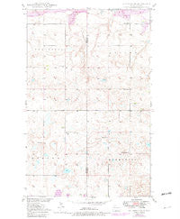 Columbus SW North Dakota Historical topographic map, 1:24000 scale, 7.5 X 7.5 Minute, Year 1949
