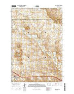 Davis Buttes North Dakota Current topographic map, 1:24000 scale, 7.5 X 7.5 Minute, Year 2014 from North Dakota Map Store