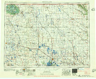 Devils Lake North Dakota Historical topographic map, 1:250000 scale, 1 X 2 Degree, Year 1956