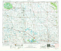 Devils Lake North Dakota Historical topographic map, 1:250000 scale, 1 X 2 Degree, Year 1953