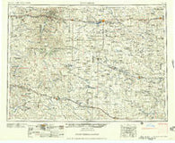 Dickinson North Dakota Historical topographic map, 1:250000 scale, 1 X 2 Degree, Year 1957