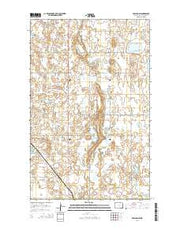 Egeland SW North Dakota Current topographic map, 1:24000 scale, 7.5 X 7.5 Minute, Year 2014 from North Dakota Maps Store