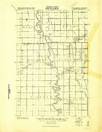 Eldred Minnesota Historical topographic map, 1:62500 scale, 15 X 15 Minute, Year 1919