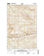 Epping North Dakota Current topographic map, 1:24000 scale, 7.5 X 7.5 Minute, Year 2014 from North Dakota Map Store