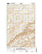 Epping NW North Dakota Current topographic map, 1:24000 scale, 7.5 X 7.5 Minute, Year 2014 from North Dakota Map Store