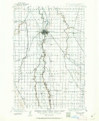 Fargo North Dakota Historical topographic map, 1:125000 scale, 30 X 30 Minute, Year 1895