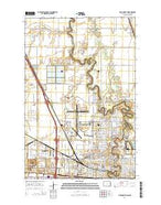 Fargo North North Dakota Current topographic map, 1:24000 scale, 7.5 X 7.5 Minute, Year 2014 from North Dakota Map Store