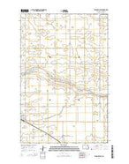 Fessenden East North Dakota Current topographic map, 1:24000 scale, 7.5 X 7.5 Minute, Year 2014 from North Dakota Map Store