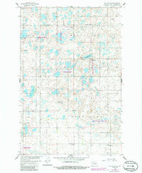 Goldwin SE North Dakota Historical topographic map, 1:24000 scale, 7.5 X 7.5 Minute, Year 1958