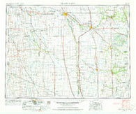 Grand Forks North Dakota Historical topographic map, 1:250000 scale, 1 X 2 Degree, Year 1952