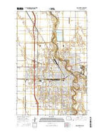 Grand Forks North Dakota Current topographic map, 1:24000 scale, 7.5 X 7.5 Minute, Year 2014 from North Dakota Map Store