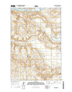 Grassna NW North Dakota Current topographic map, 1:24000 scale, 7.5 X 7.5 Minute, Year 2014 from North Dakota Map Store