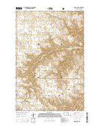 Grassy Butte North Dakota Current topographic map, 1:24000 scale, 7.5 X 7.5 Minute, Year 2014 from North Dakota Map Store