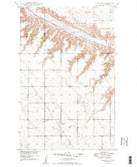 Hartland North Dakota Historical topographic map, 1:24000 scale, 7.5 X 7.5 Minute, Year 1949