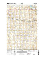 Judson North Dakota Current topographic map, 1:24000 scale, 7.5 X 7.5 Minute, Year 2014 from North Dakota Map Store