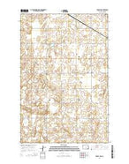 Kensal NW North Dakota Current topographic map, 1:24000 scale, 7.5 X 7.5 Minute, Year 2014 from North Dakota Map Store