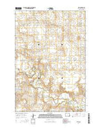 Leith North Dakota Current topographic map, 1:24000 scale, 7.5 X 7.5 Minute, Year 2014 from North Dakota Map Store