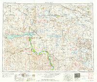 McClusky North Dakota Historical topographic map, 1:250000 scale, 1 X 2 Degree, Year 1958
