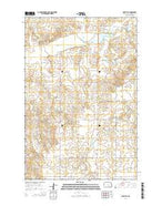 Moffit SE North Dakota Current topographic map, 1:24000 scale, 7.5 X 7.5 Minute, Year 2014 from North Dakota Map Store