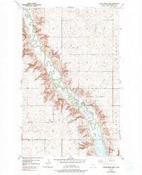 Mouse River Park North Dakota Historical topographic map, 1:24000 scale, 7.5 X 7.5 Minute, Year 1949