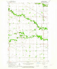 Nash North Dakota Historical topographic map, 1:24000 scale, 7.5 X 7.5 Minute, Year 1963