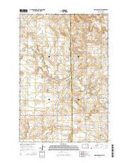 New England SW North Dakota Current topographic map, 1:24000 scale, 7.5 X 7.5 Minute, Year 2014 from North Dakota Maps Store