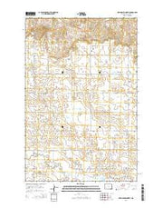 New Hradec North North Dakota Current topographic map, 1:24000 scale, 7.5 X 7.5 Minute, Year 2014 from North Dakota Maps Store